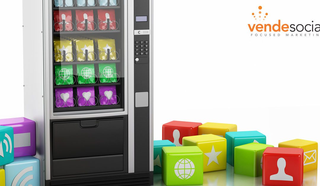 Social Media Vending Machines Get Brands Noticed
