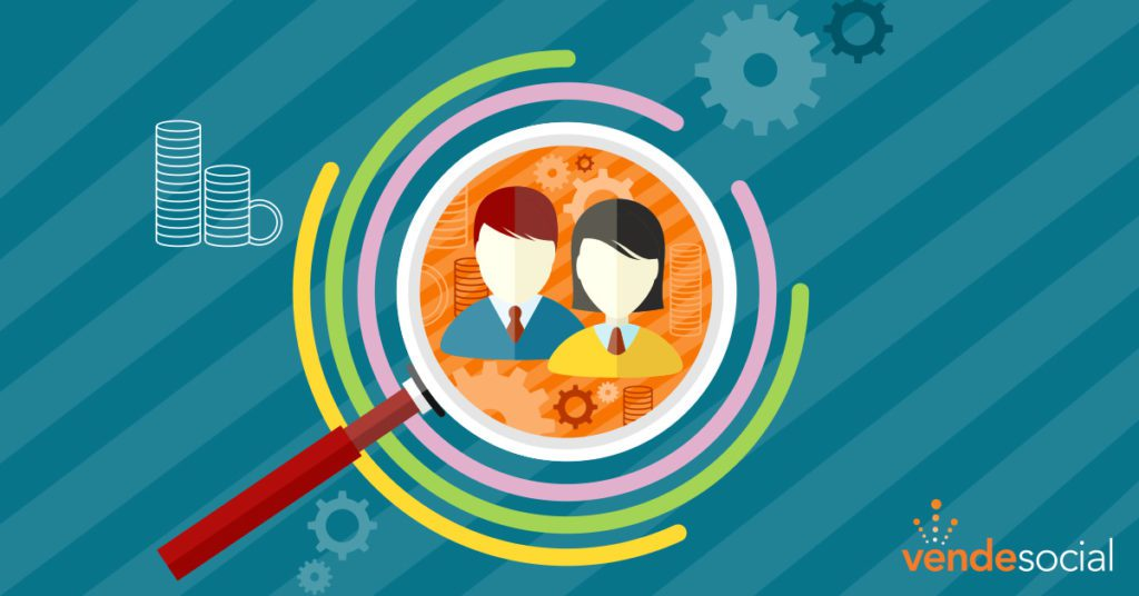 A magnifying glass hones in on a target audience | optimal target audience
